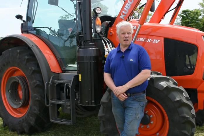 Farmer impressed with new Kubota tractor