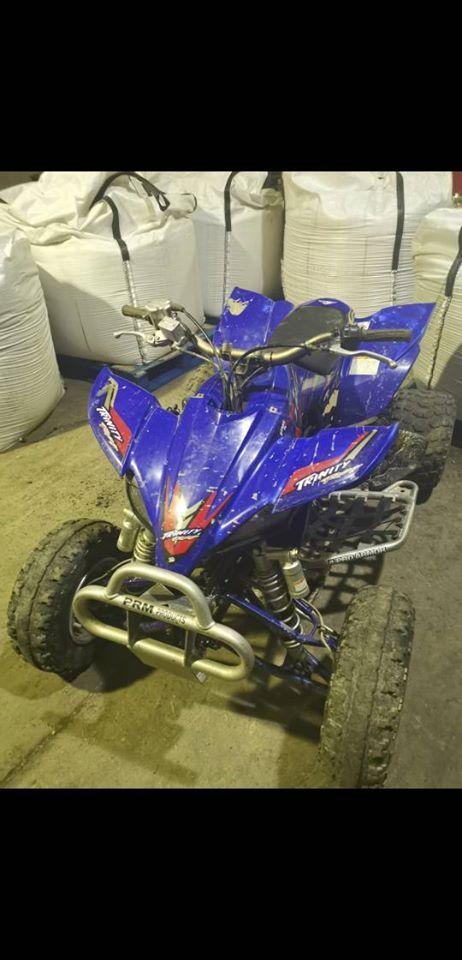 Suspected stolen quad bike seized