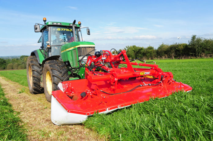 New Keltec front mower steer from cab