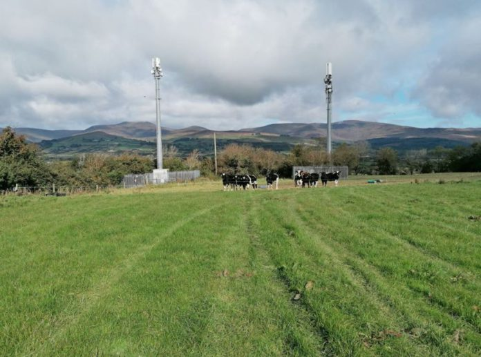 Roadside holding c. 42-acres in 3 lots with an annual income stream of €17,325 from 2 mobile phone masts in Co. Tipperary