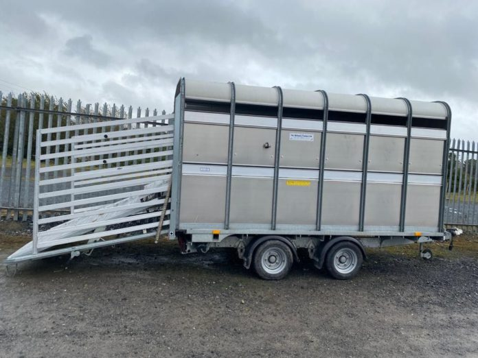 Trailer, trailer test, BE licence - virtual auction