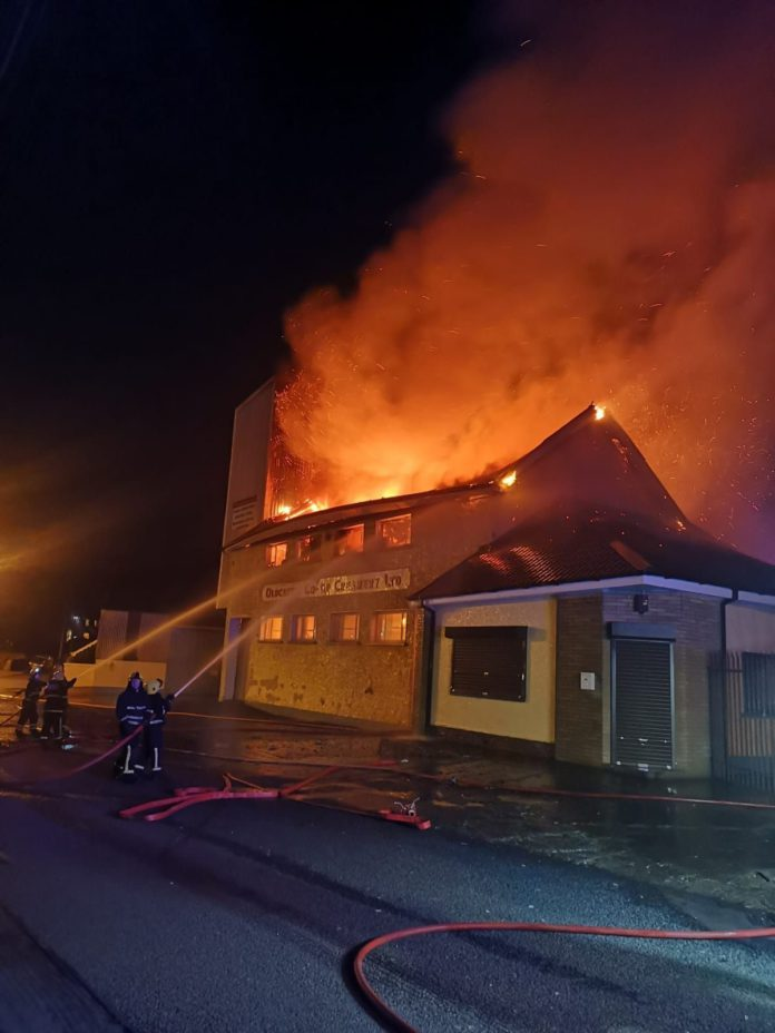 17-year-old charged with arson after fire at co-op