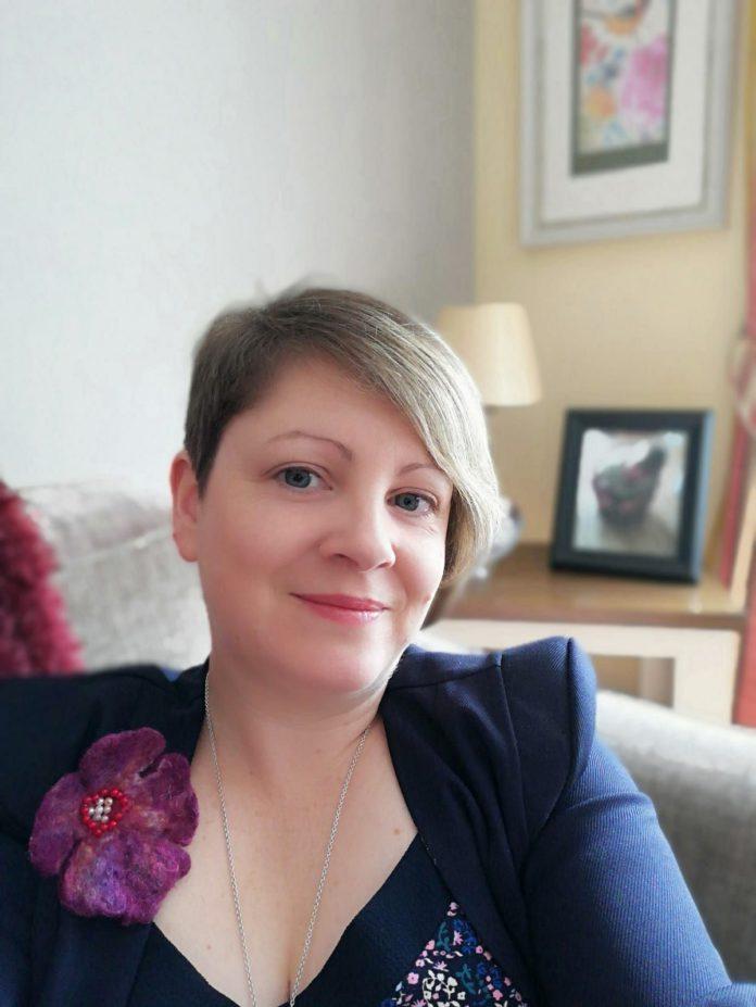 Lorna McCormack of Wool in School