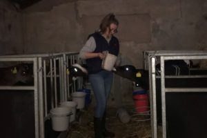 Dairy farmer and Animal Science BSc (Honours) student at Harper Adams University, Megan Morrow (21), speaks about her father's suicide.