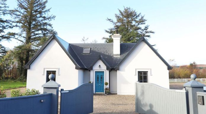 Victorian Gate Lodge-style home for sale in Belass, Foxford, Co. Mayo for €450,000.