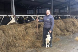 WIT graduate, Miriam Dineen, Cahirbarnagh, Rathmore, Co. Kerry, is a dairy farmer and sales representative for Agritech