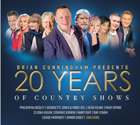 Brian Cunningham marking 20 years of Country Shows with new CD