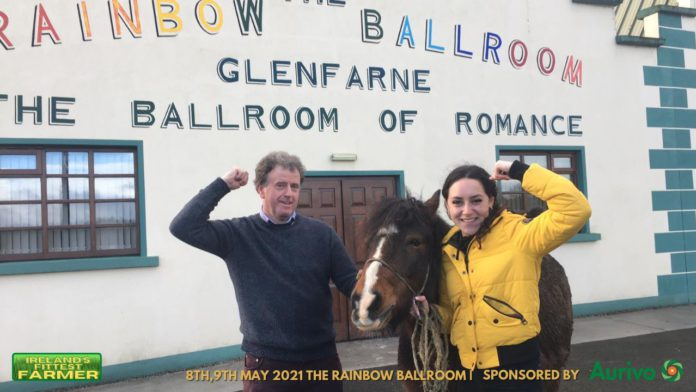 Ireland's Fittest Farmer at Rainbow Ballroom of Romance, Glenfarne