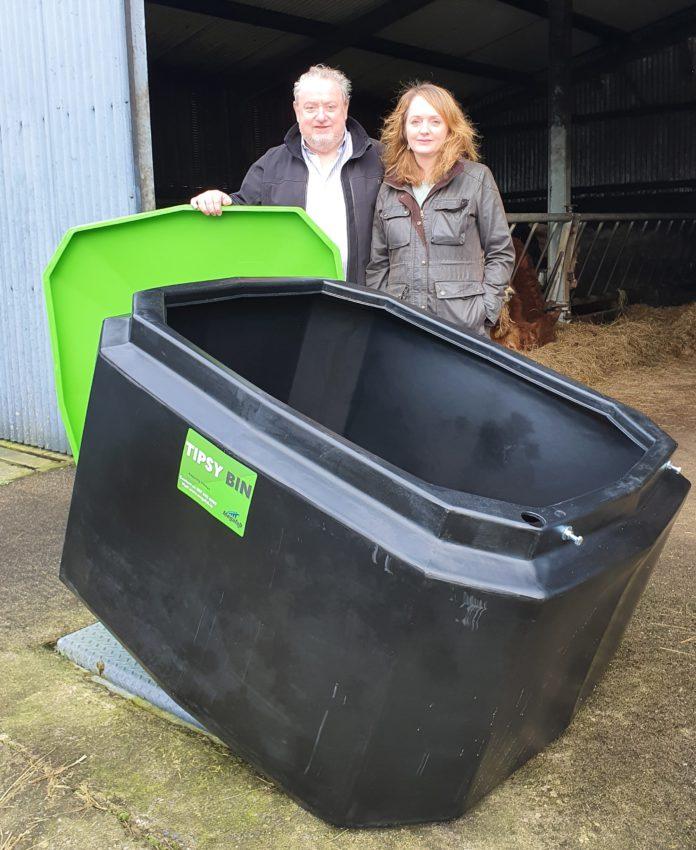 Tipsy Bin: Galway native creates newly-designed 700kg meal bin