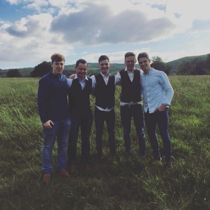 The Tumbling Paddies, music, grass, field, country music, entertainment, band