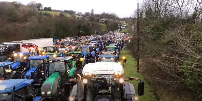 Tractor run, machinery, James Cull