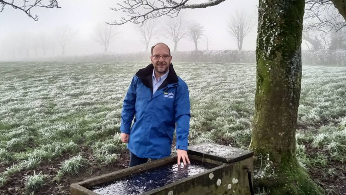 David Mackey, Dairying Adviser at the College of Agriculture, Food and Rural Enterprise (CAFRE).