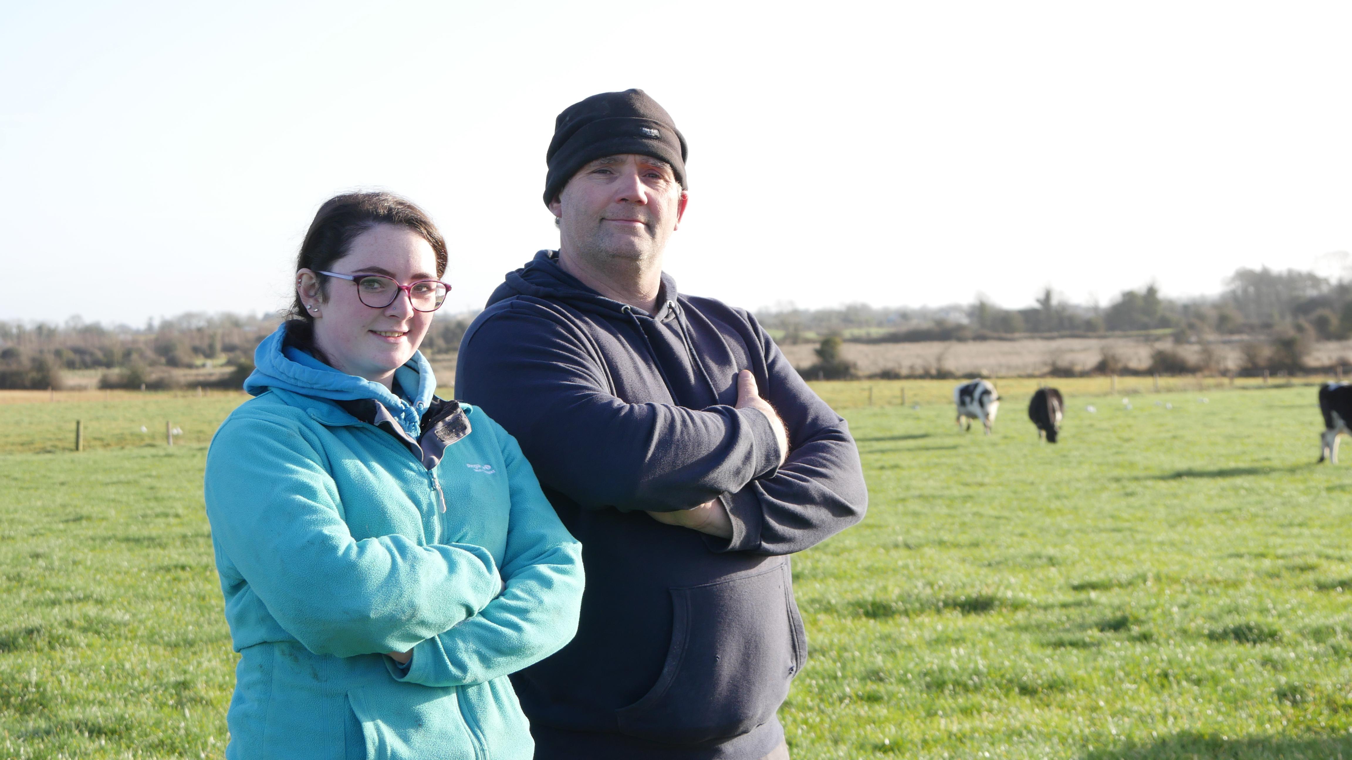 Kevin and Ciara Callahan, dairy farmer, dairy farming, JFC