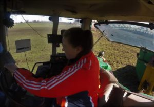 Alisha McCarthy, tractors, agricultural contracting Ireland, machinery
