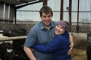Andrew and Margaret Little, dairy farmers, dairy cows, cattle