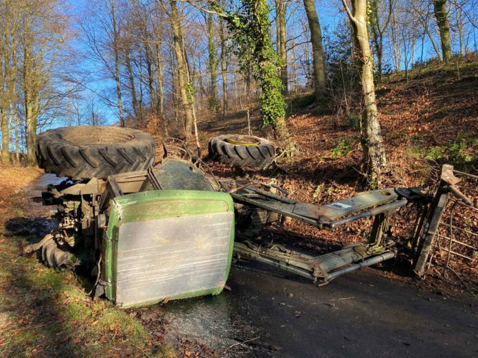 farming news, tractor, tractor accident,