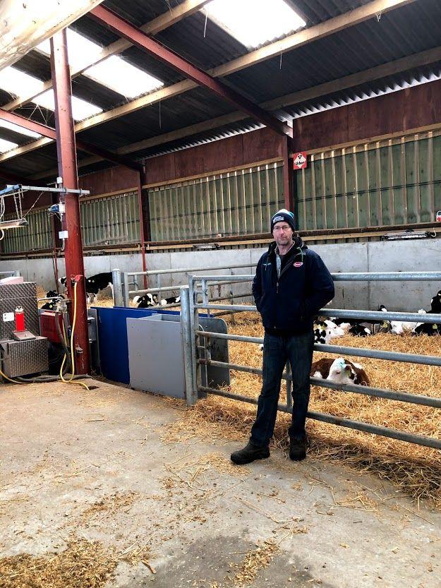 Andrew Revington, dairy farmer, dairy farming