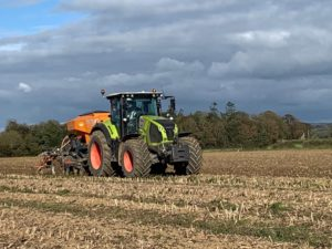 Tractors, machinery, John Hughes, agricultural contracting