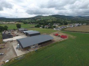 Aisling Byrne, livestock sheds, dairy farm