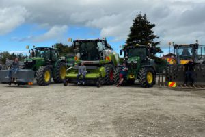 tractors, agricultural contracting in New Zealand, machinery