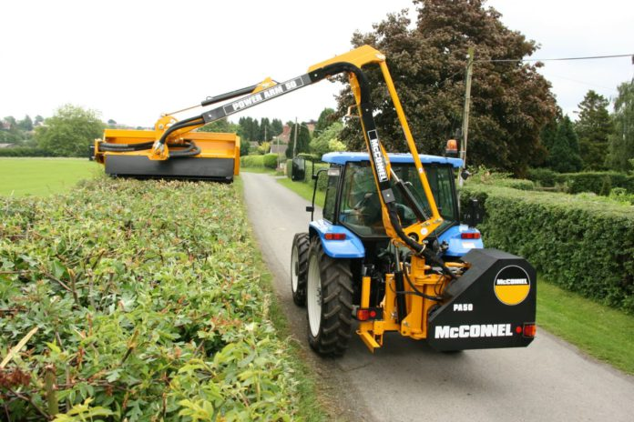 FCI, agricultural contracting, hedge-cutting, machinery, hedge-cutter