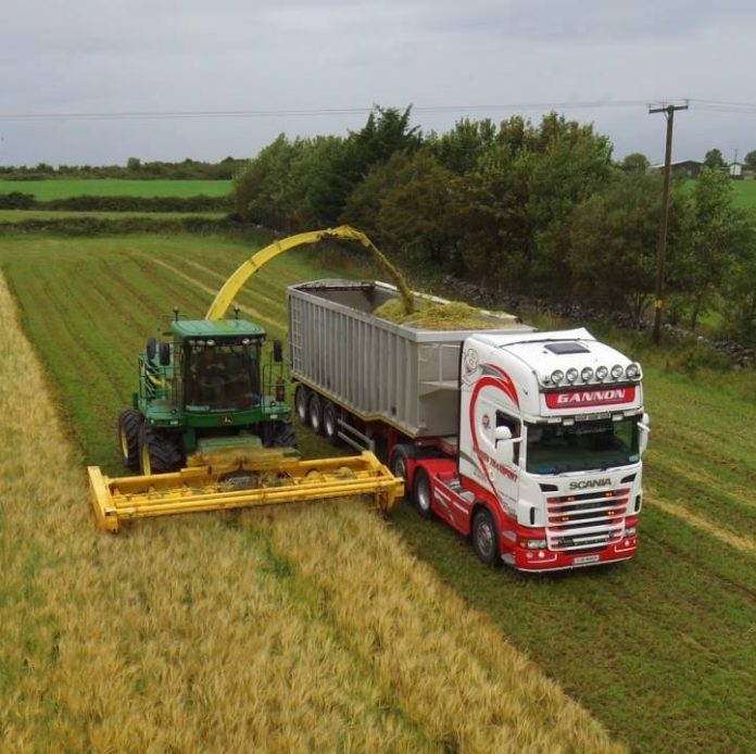 Gannon Agri Contractors, trucks, Scania, silage, agricultural contracting, tractors,