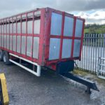 Murphy cattle trailer, online machinery auction
