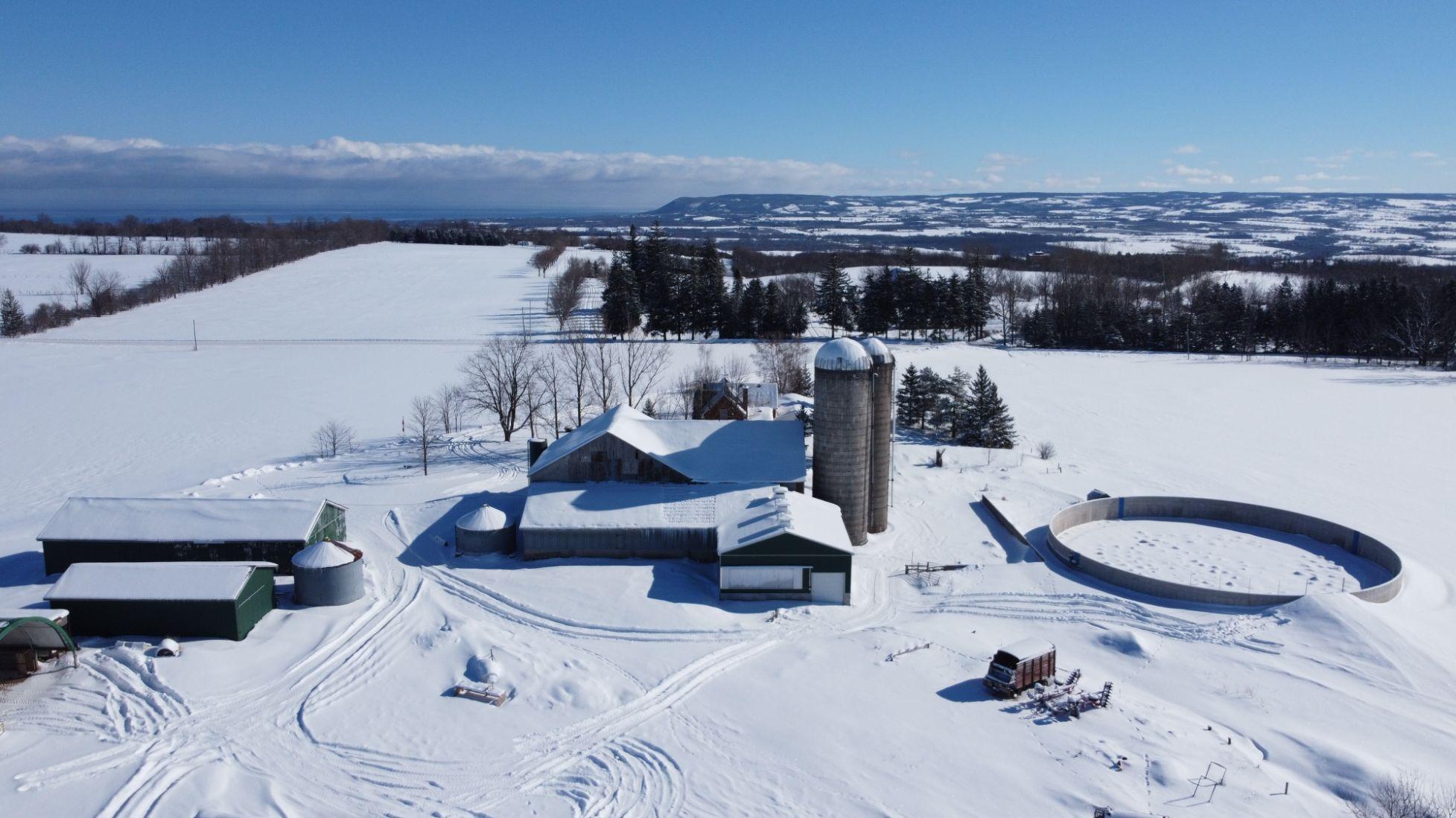 Dairy farmer, snow, snow on farm, dairy farmer