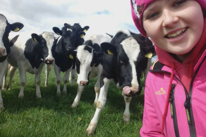 Eimear Spain, women in agricuture, women in farming, dairy farming