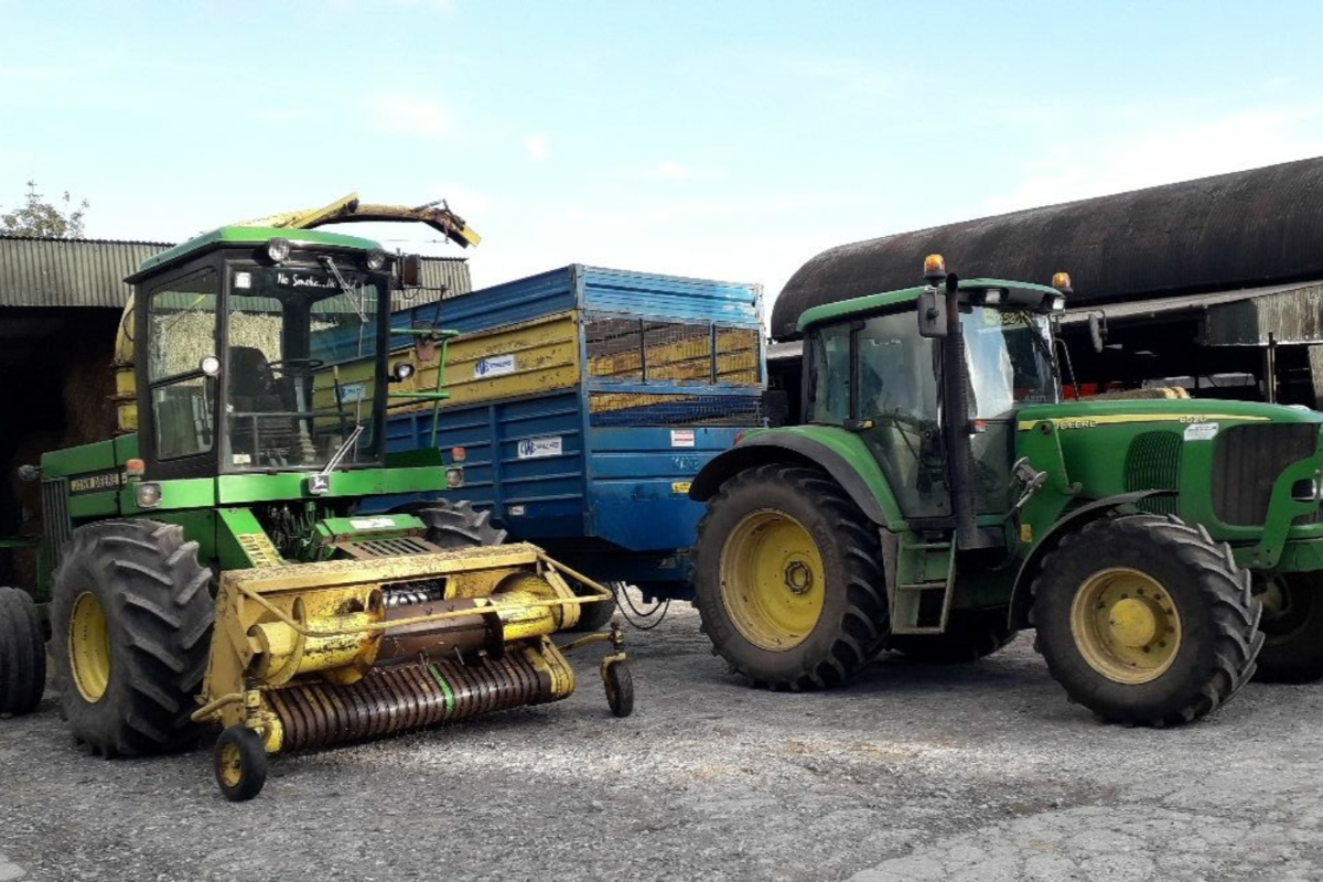 machinery, tractors, silage, silage 2021