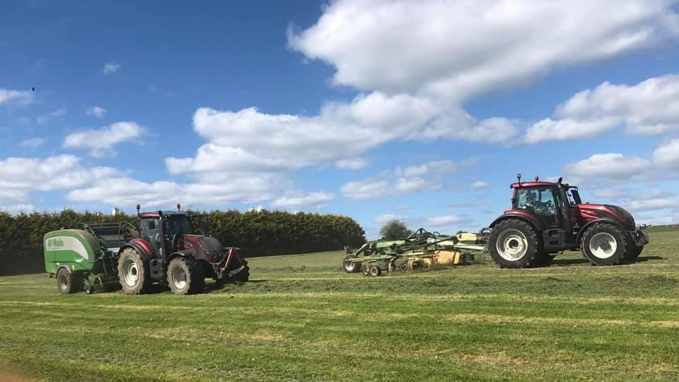 Gannon Agri Contractors, Fusion balers, bailing silage, silage, agricultural contracting