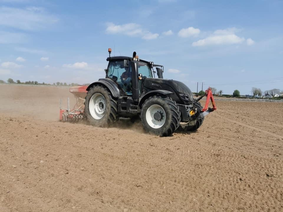 Gannon Agri Contractors, reseeding, agricultural contractors in the west of Ireland, Maurice Gannon