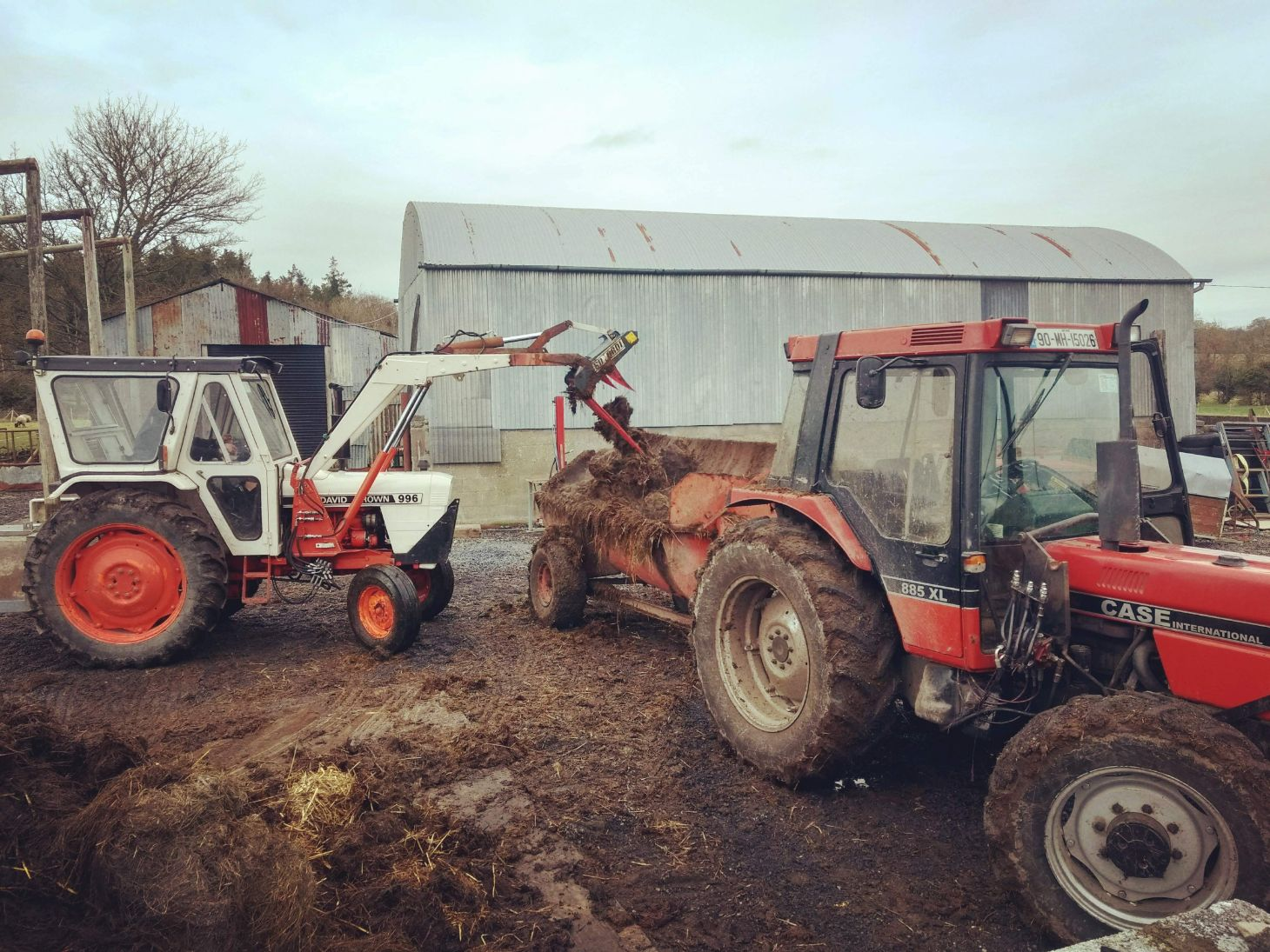 agricultural contracting, machinery, tractor