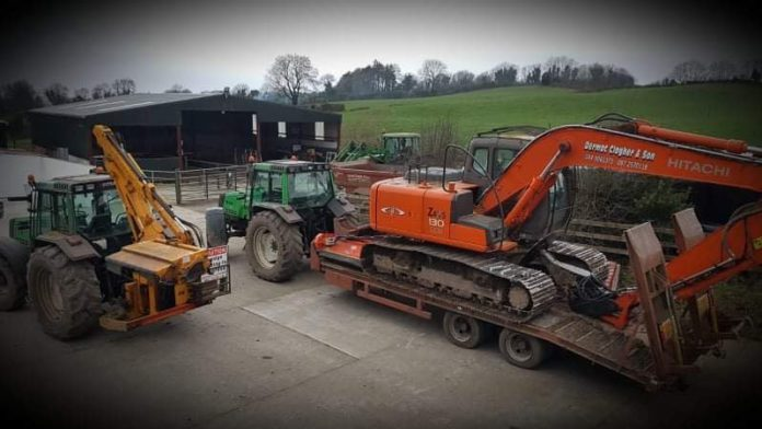 machinery, agricultural contractor, agricultural contracting, plant machinery, Dermot Clogher Agricultural Contractor