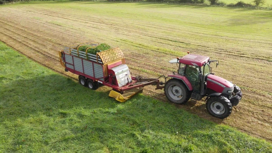 Coogan Agri Services, agricultural contracting, agricultural contractors, grass, grassland, tractors,