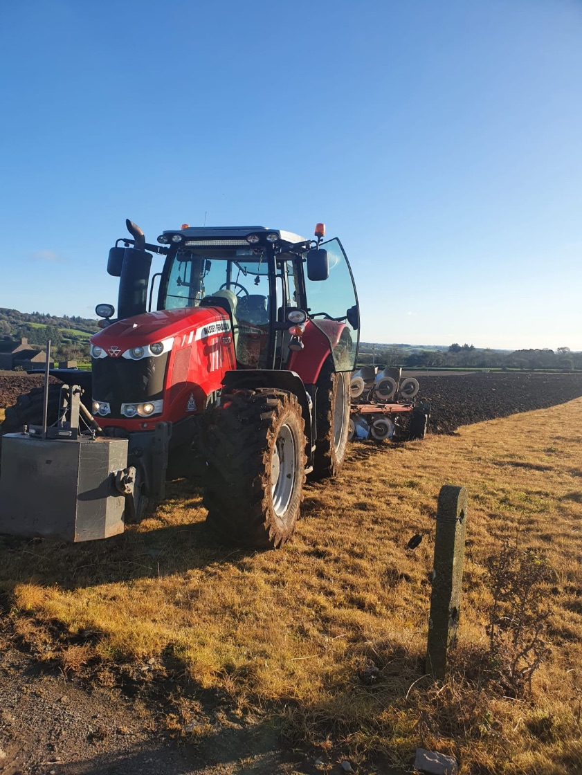 Ted O' Leary Agricultural Contracting, tractor, machinery, Massey Ferguson