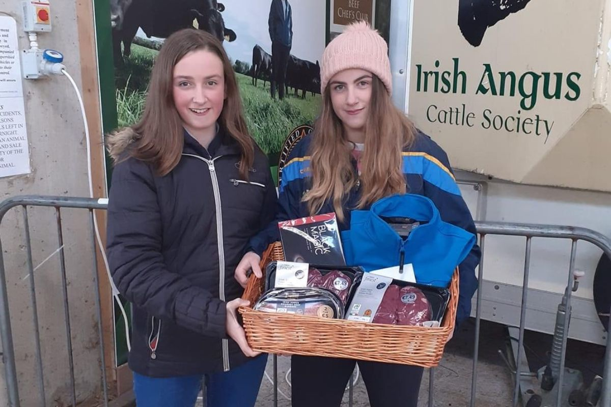Lismacool Pedigree Shorthorn and Angus, young farmers, women in agriculture, farm girls, Irish Angus