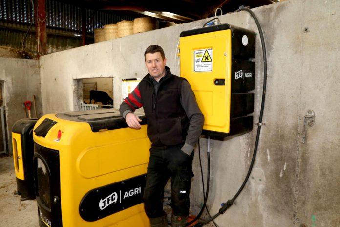dairy farmer, Sean Nolan, JFC Agri Evolution S4 automatic calf feeder, JFC Agri, calving 2021,