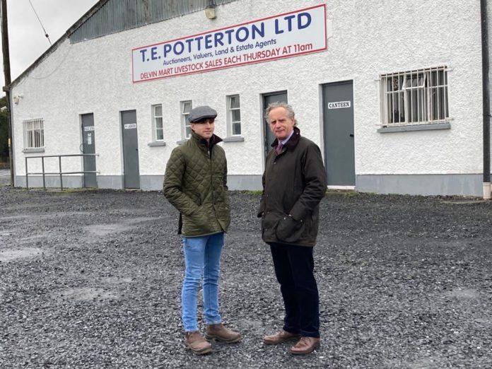 Thomas Potterton, Delvin Mart, livestock mart, livestock mart reports,