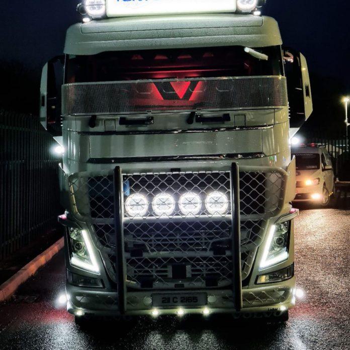 , Volvo, Tony O Mahony's New 70 Ton Volvo FH