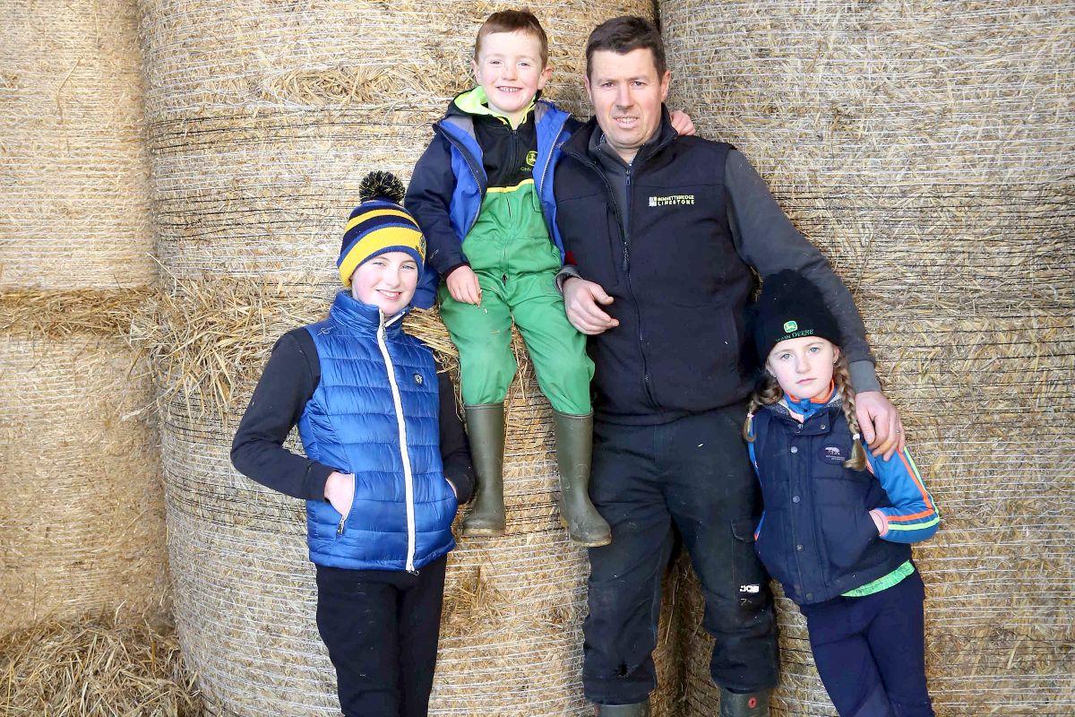 dairy farmers, dairy farming, farm family, 280-cow dairy herd,