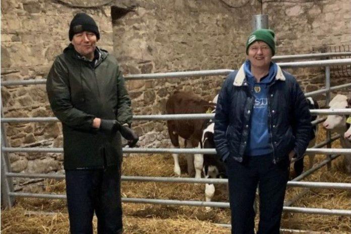 Montbeliarde, Ann Fitzgerald, dairy farming, dairy farmers, dairy farm, farming couple, dairy farmers in Ireland
