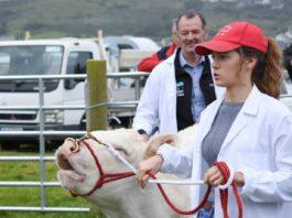 Áine McColgan, farm girl, women in ag, women in farming