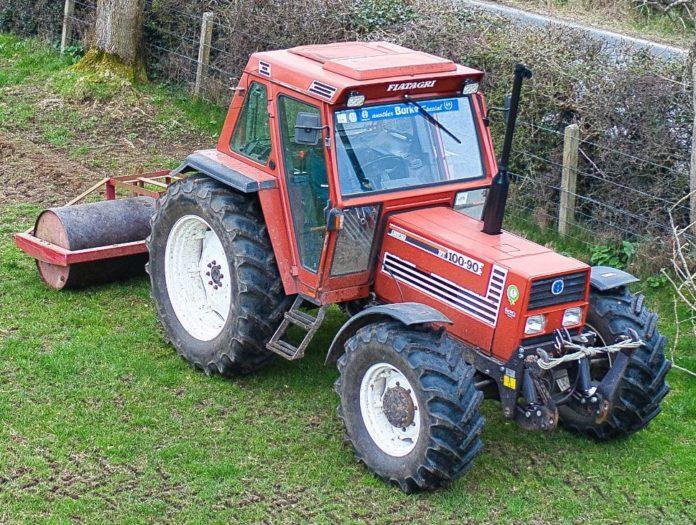 Tractor videos, Fiat, Grass 2021, field