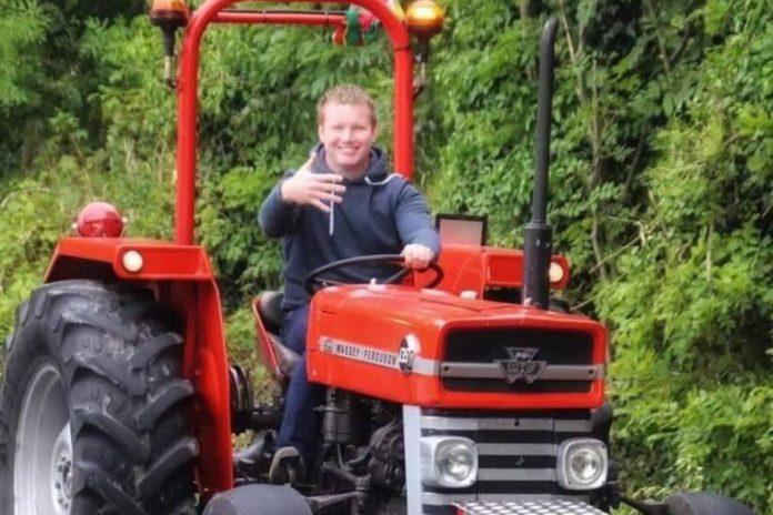 Diarmaid Waldron, Johnston Farm Equipment Ltd, machinery, tractors, Massey Ferguson,
