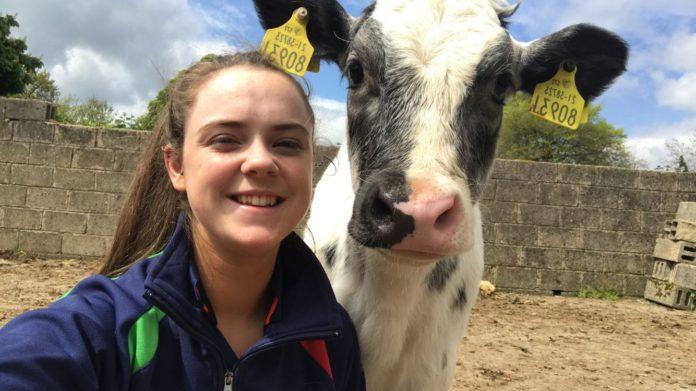 Caroline Doherty, farm girl, suckler farming,