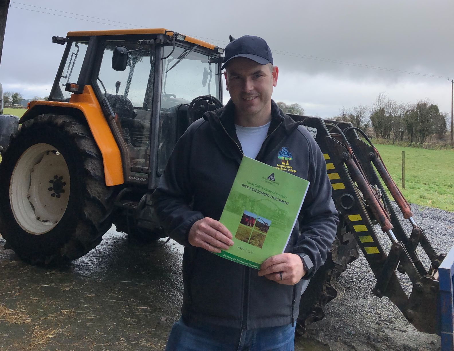 Enda Kennedy, machinery, tractors, farm safety tips