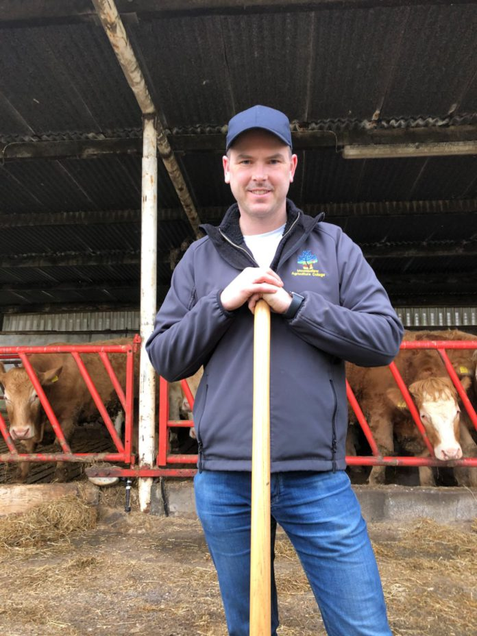 Enda Kennedy, Mountbellew Agricultural College
