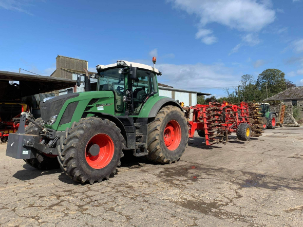 Richard Thomson Moore, tractor, machinery, farm machinery
