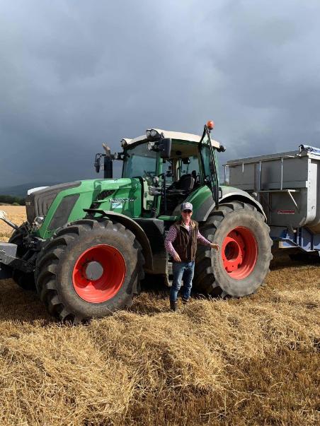 Richard Thomson Moore, tillage farmer, tillage farming, machinery
